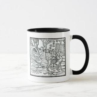 Representation of the Plague, 1572 Mug