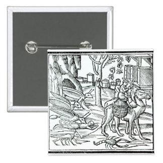 Representation of the Plague, 1572 Pinback Button