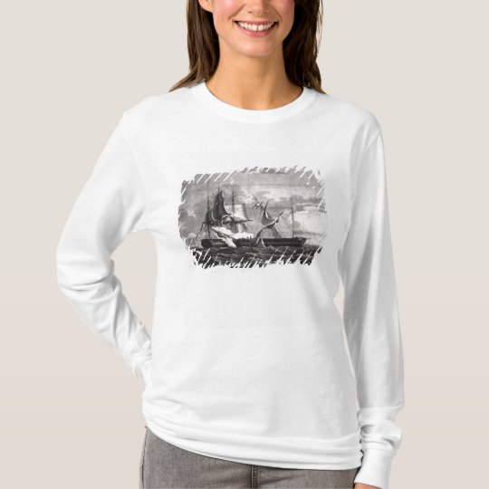 Representation of the US frigate, T-Shirt