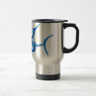Representational Creature Abstract 15 Oz Stainless Steel Travel Mug