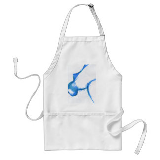 Representational Creature Abstract Adult Apron