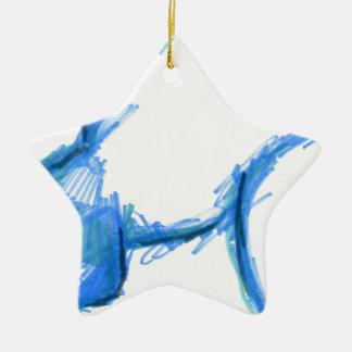 Representational Creature Abstract Ceramic Ornament