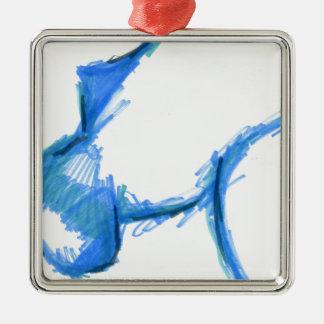 Representational Creature Abstract Metal Ornament