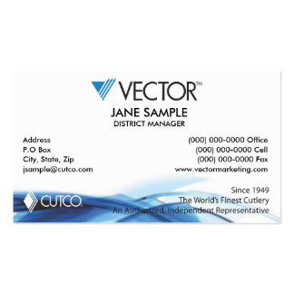 Representative & Manager Business Cards