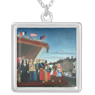 Representatives of the Forces Silver Plated Necklace
