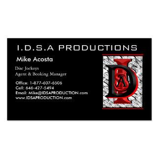 Represente 002, PRODUCCIONES de I.D.S.A, Mike Tarjetas De Visita