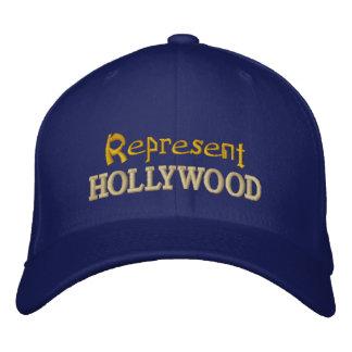 Represente el casquillo de Hollywood Gorra De Béisbol
