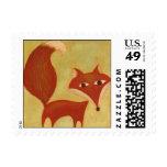 Represente los sellos de un Fox del cuento