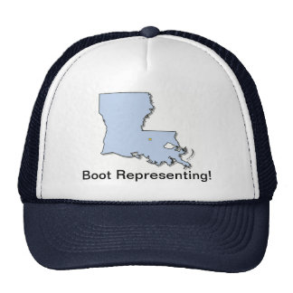 Represente Luisiana Gorras