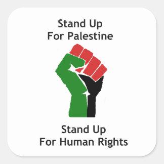 Represente para arriba el pegatina de Palestina