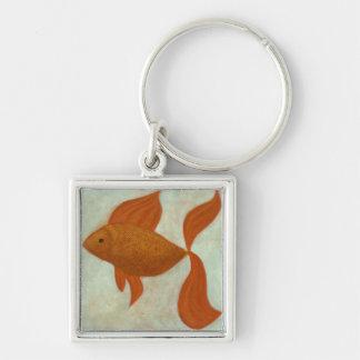 Represente un llavero de los pescados del cuento