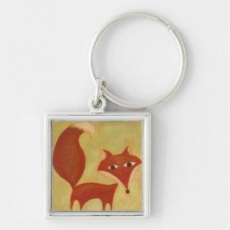 Represente un llavero del Fox del cuento