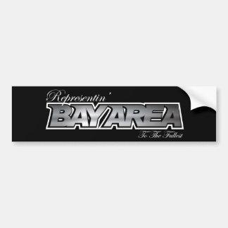 Representin' The Bay Area Bumper Sticker
