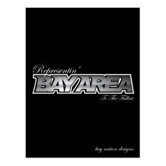 Representin' The Bay Area Postcard