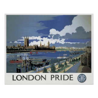 Reprint of a Vintage British Railway Poster