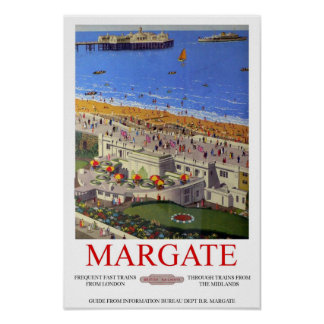 Reprint of a Vintage British Tourism Poster