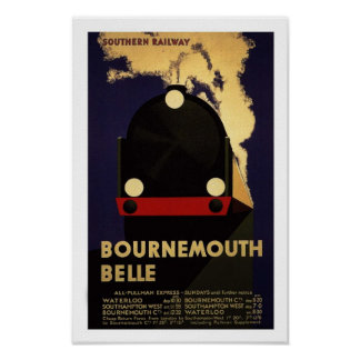 Reprint of a Vintage English Railway Poster