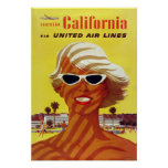 Reprint of a Vintage US Travel Poster