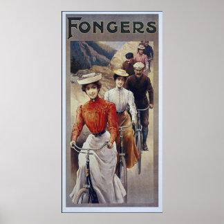 Reprint of an Vintage Art Nouveau Poster