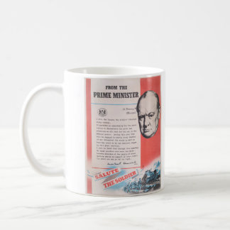 Reprint of British wartime poster. Coffee Mug