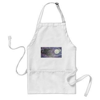 Reprinted painting by David Berbia Adult Apron