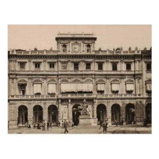 Reproducción 1905 de ayuntamiento de Torino Postal