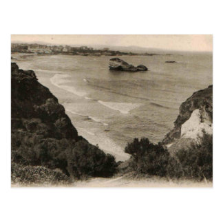 Reproducción 1910 de Francia de la playa de Postales