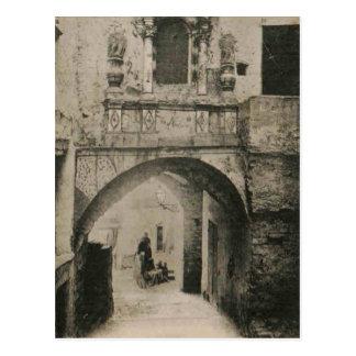 Reproducción 1926 de Aviñón Francia de la catedral Tarjetas Postales