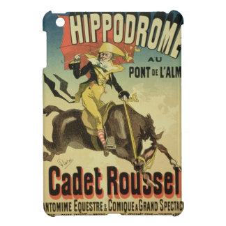Reproducción cadete Rousse de una publicidad de po