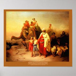 Reproducción de José Molnar del viaje de Abraham Posters