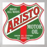 Reproducción de la muestra del vintage del aceite  impresiones
