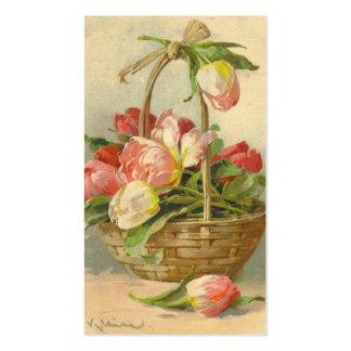 Reproducción de la tarjeta de visita del vintage d