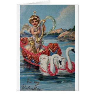 Reproducción de la tarjeta del el día de San Valen