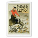 Reproducción de una publicidad de poster Comiot Mo Tarjeta De Felicitación