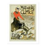 Reproducción de una publicidad de poster Comiot Tarjeta Postal