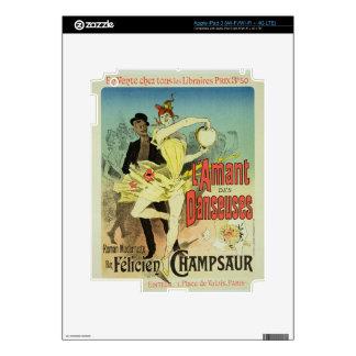 Reproducción de una publicidad de poster 'el amant iPad 3 skins