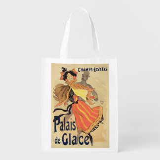 Reproducción de una publicidad de poster el bolsa para la compra