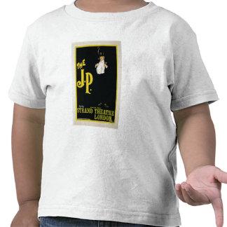 """Reproducción de una publicidad de poster """"El J.P."""" Camiseta"""