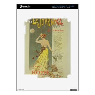 Reproducción de una publicidad de poster el public pegatina skin para iPad 3