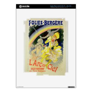 Reproducción de una publicidad de poster 'el Rainb Pegatinas Skins Para iPad 3