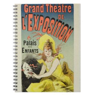 Reproducción de una publicidad de poster el 'Th ma Notebook