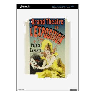 Reproducción de una publicidad de poster el 'Th ma Pegatinas Skins Para iPad 3
