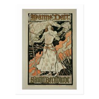 Reproducción de una publicidad de poster 'Joan of Postales