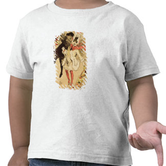 Reproducción de una publicidad de poster la juguet camiseta