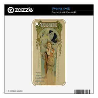 Reproducción de una publicidad de poster la ópera  calcomanías para el iPhone 4S