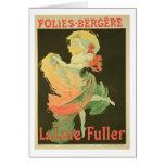 Reproducción de una publicidad de poster 'Loie Ful Tarjeton
