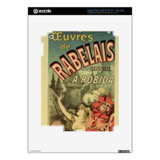 Reproducción de una publicidad de poster 'los trab iPad 3 skin