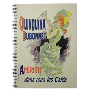 Reproducción de una publicidad de poster 'Quinquin Libretas