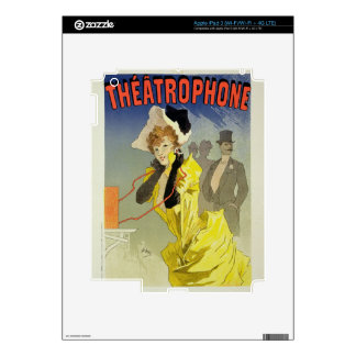 Reproducción de una publicidad de poster 'Theatrop iPad 3 Skin