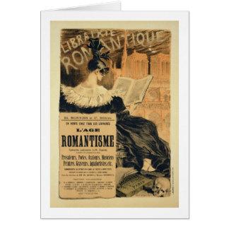 Reproducción de una publicidad de poster un entitl tarjeta de felicitación